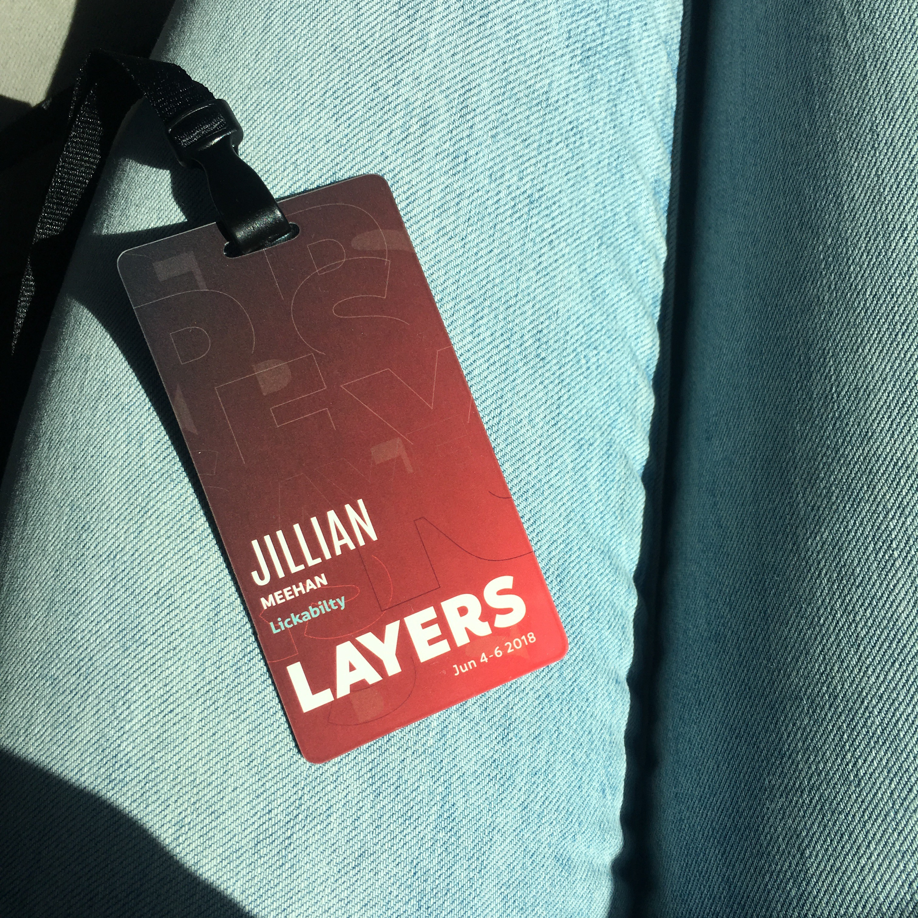 Jillian's Layers badge.