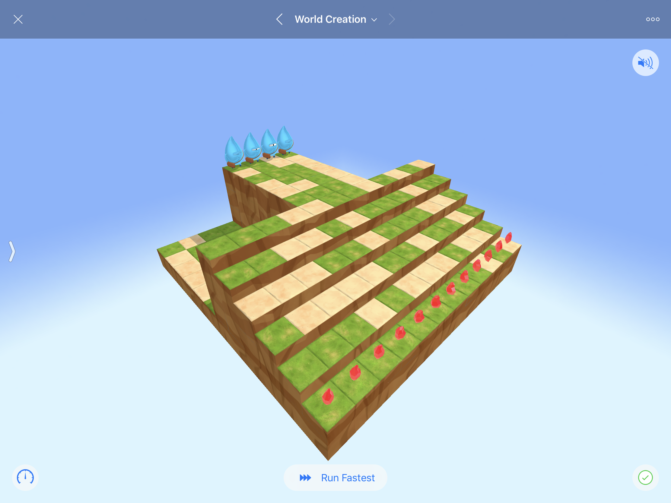A screenshot of the Swift Playgrounds app.